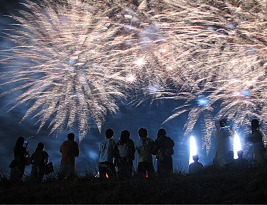 みさとサマーフェスティバル花火大会