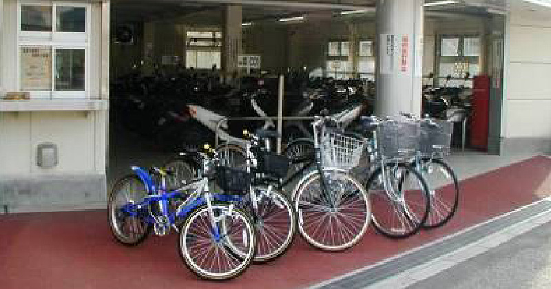 三郷駅北口自転車駐車場レンタサイクル